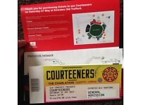 Courteeners ticket for sale general admission £45