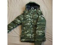 The North Face Black Label Box Canyon Camo Jacket Size Extra Small