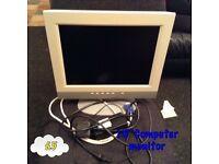 """15"""" computer monitor"""