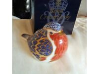 Crown Derby Robin