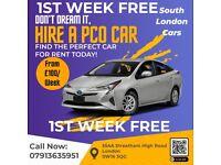 **£100 PER WEEK** / PCO Car Rent/ PCO Car Hire / Rent / Uber / Toyota Prius [ Streatham Office ]