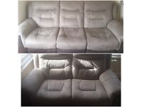 GARRICK 3 and 2 seater recliner sofas