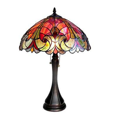 Tiffany Style Stained Glass Victorian 2 Light ...