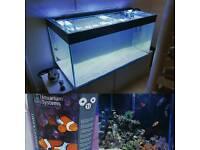 450litre Aquarium With Unit