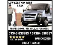 Man With A Van **VERY LOW PRICES**
