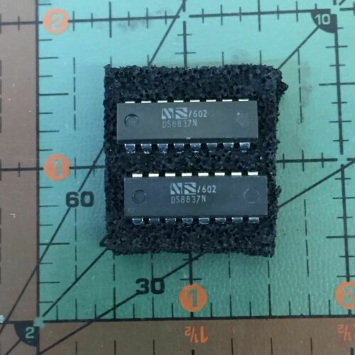 ci DS 8837 N PLA032 ic DS8837N Hex Unified Bus Receiver DIP16