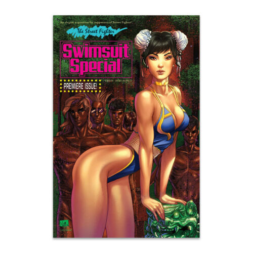 Street Fighter 2016 Swimsuit Special Comic Cover C Near Mint