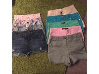 Wardrobe full girls clothes lots new some with tags river island miss sixty etc and shoes