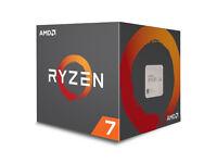 AMD Ryzen 2700x CPU (opened to look) brand new