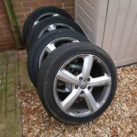 Audi 20 inch wheels q7