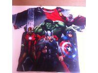 Marvel boys T shirt age 11/12 worn oncw