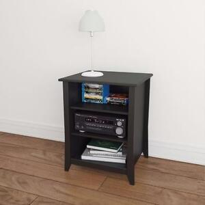 Nexera Tuxedo Stereo Cabinet (201006) - Black NEW