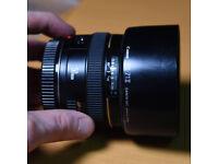 Canon EF 50mm F1.4 USM Ultrasonic Fast Prime Lens