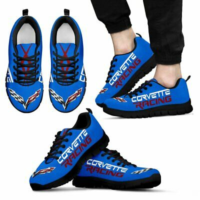 Corvette C5,C6,C7 Racing,Z06,ZR1-Top Men's Shoes-Free shipping-Best gift for