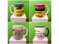Customised mugs for your business