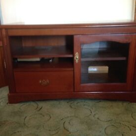 Stag TV cabinet - cherry