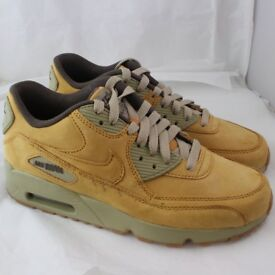 NIKE Air Max 90 brown leather UK women size 5