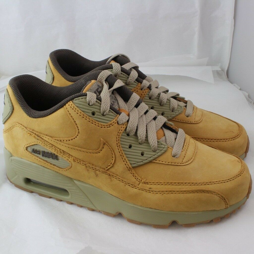 NIKE Air Max 90 brown leather UK women size 5  9ba556246