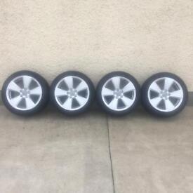 Genuine A3 alloys, fit VW Caddy