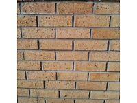 New leftover bricks from recent job