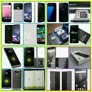 Brand New in Box Samsung Galaxy S7/S7 Edge/Note 7/Sony Z5 Premium/LG-G5/LG-G4/Used,Mint Nexus 6/UNLOCKED