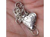 FOUND Silver locket and chain in Newmillerdam, Wakefield.