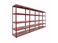 5 Tier Metal Boltless Garage Shed Storage