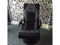 X Rocker Drift Bluetooth pedestal Gaming Chair