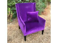 Designer Wing Back Armchair