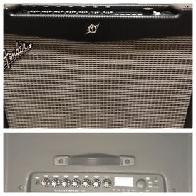 """Fender Mustang IV 150 watt 2x 12"""" amp with 4 button foot switch"""