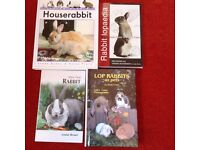 Rabbit Care Books x 4, Living With a House Rabbit, Lops as Pets, Rabbit Lopaedia, First Rabbit