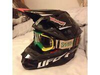 Ufo motocross helmet
