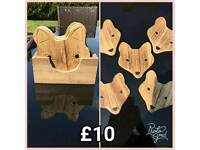 Wooden Fox Coasters 🦊