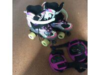 Girls roller boots skates