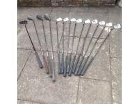 Golf Clubs, Bag & Trolley