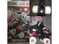 Quad Roller Skates Junior size 29 - 32