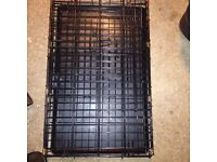 Used dog cage