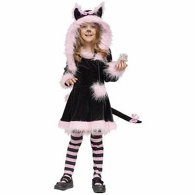 Youth Toddler Girl Costume - Pretty Kitty Costume - Sz Toddler Sm (3T-4T) NEW](Toddler Girl Kitty Costume)