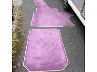 Caravan carpet