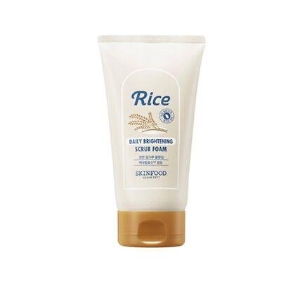 [SKIN FOOD] Rice Daily Brightening Scrub Foam  / 150ml