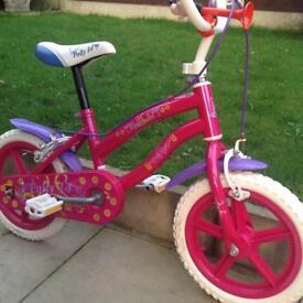 14 inch girls bike in very good condition .