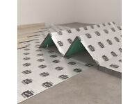 UNDERLAY FOR WOOD AND LAMINATE FLOOR XPS 5MM 5.5 SQM DAMP PROOF HIGH QUALITY