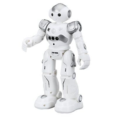 Virhuck R2 Smart Remote-Controlled Robot Toy for Kids with Music Lights Walki...