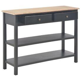 Sideboard Black 110x35x80 cm MDF-280031