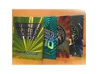Great condition Guinness world record books 2009-2012