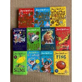 David Walliams Book bundle