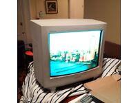 small vintage Sony Trinitron TV set in full working order
