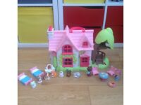 Early Learning Centre Happyland dolls house (cherry tree cottage)