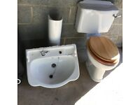 Ideal Standard Close Coupled Toilet and Washbasin