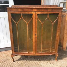 Large Vintage China Cabinet